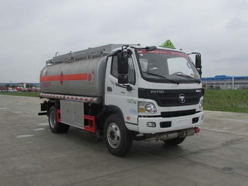 10吨柴油油罐车推荐:福田欧马可国四10吨加油车