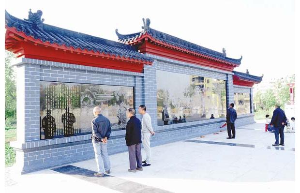 """随县均川镇改善人民文化休闲环境修建了""""唐王广场"""""""
