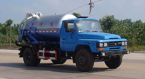 东风尖头吸污车 国内技术领先的吸污专用泵
